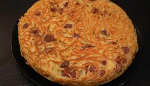 Ricetta della frittata di spaghetti