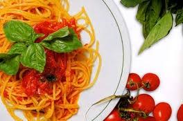 Spaghetti con pomodorini