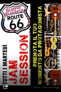 Jam Session al Route66