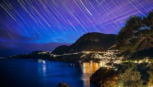A sky full of stars in Positano - Video