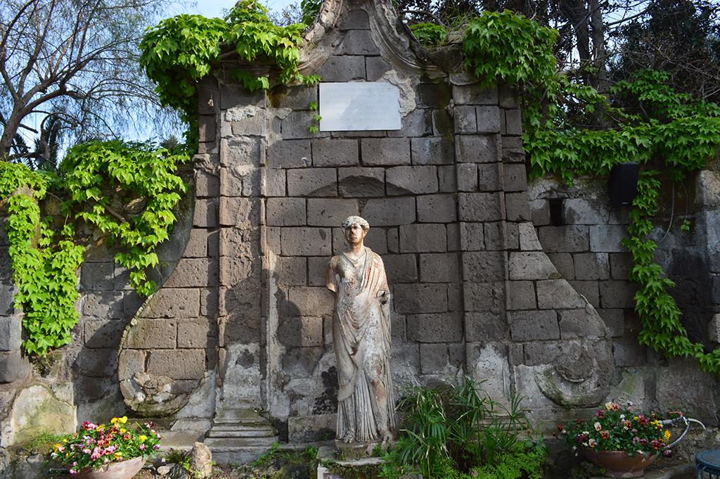 Il giardino del museo Correale a Sorrento