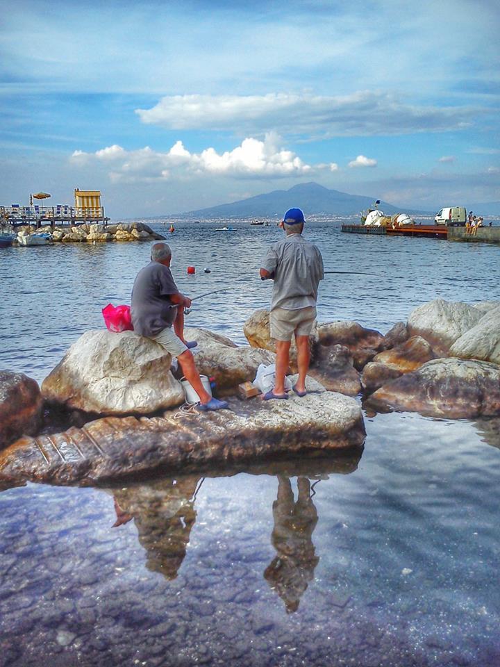 Pescatori di Marina Grande a Sorrento - Ottobre