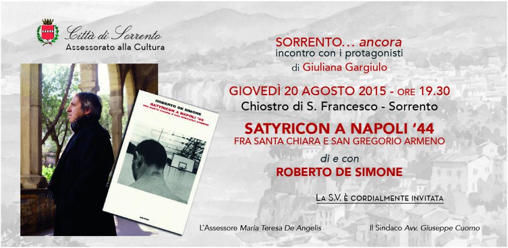 Roberto De Simone - Sorrento