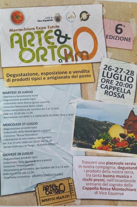 Arte e Orto a Km0 - Montechiaro 2016