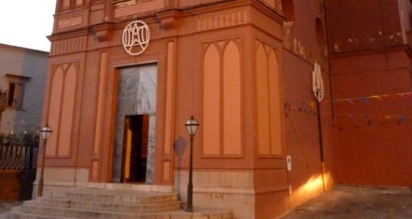 Cappella rossa a Montechiaro - Vico Equense