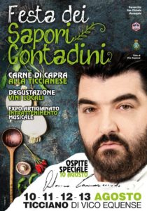 Festa dei sapori contadini 2016 - chef Cannavacciuolo