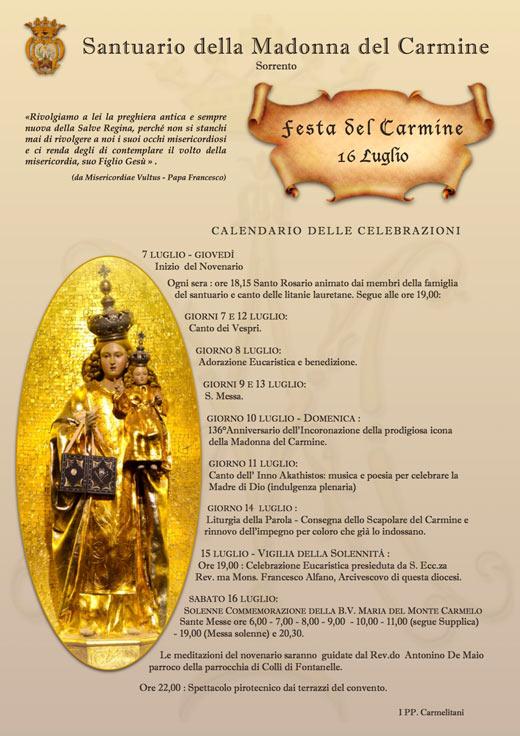 Festa del Carmine - Sorrento 2016
