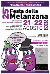Festa della Melanzana 2016 a Preazzano di Vico Equense