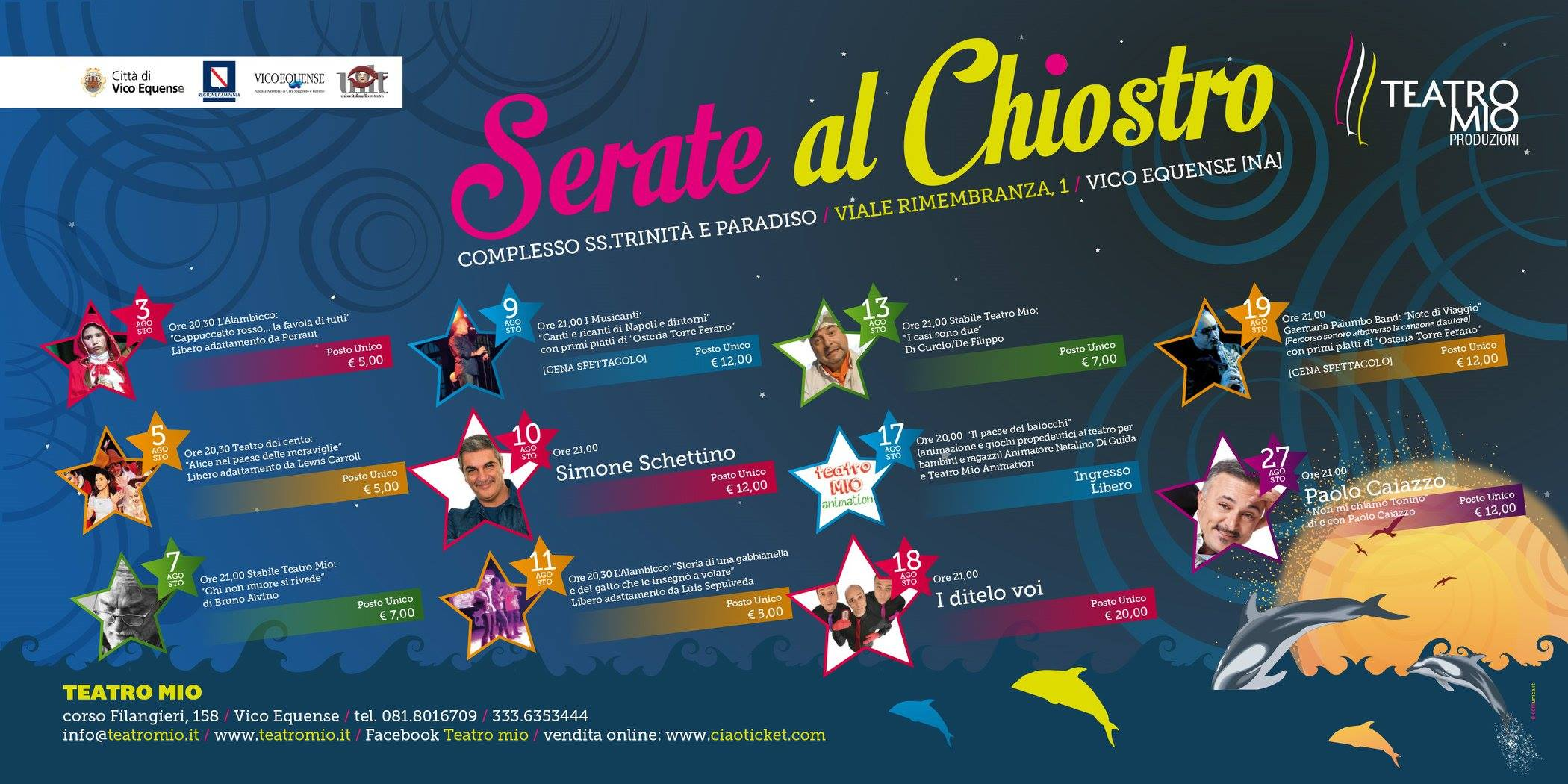 Serate al Chiostro - Vico Equense 2016