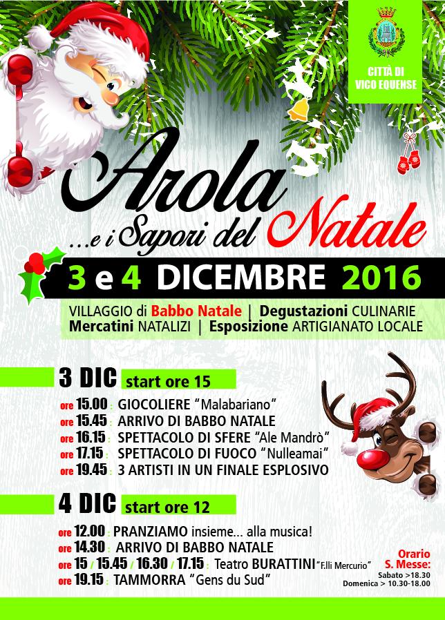 Arola e i sapori del Natale 2016