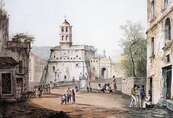 Largo Castello Sorrento Piazza Tasso
